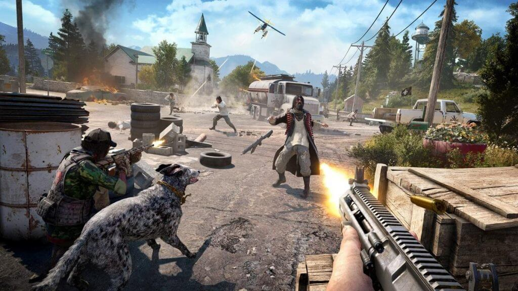 Far Cry 5 Shoot