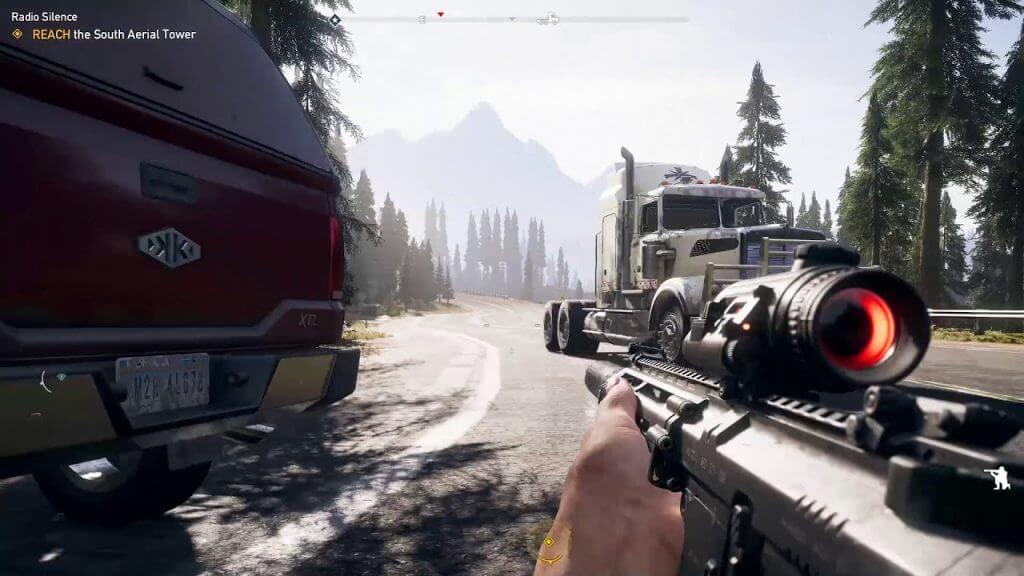Far Cry 5 Rifle