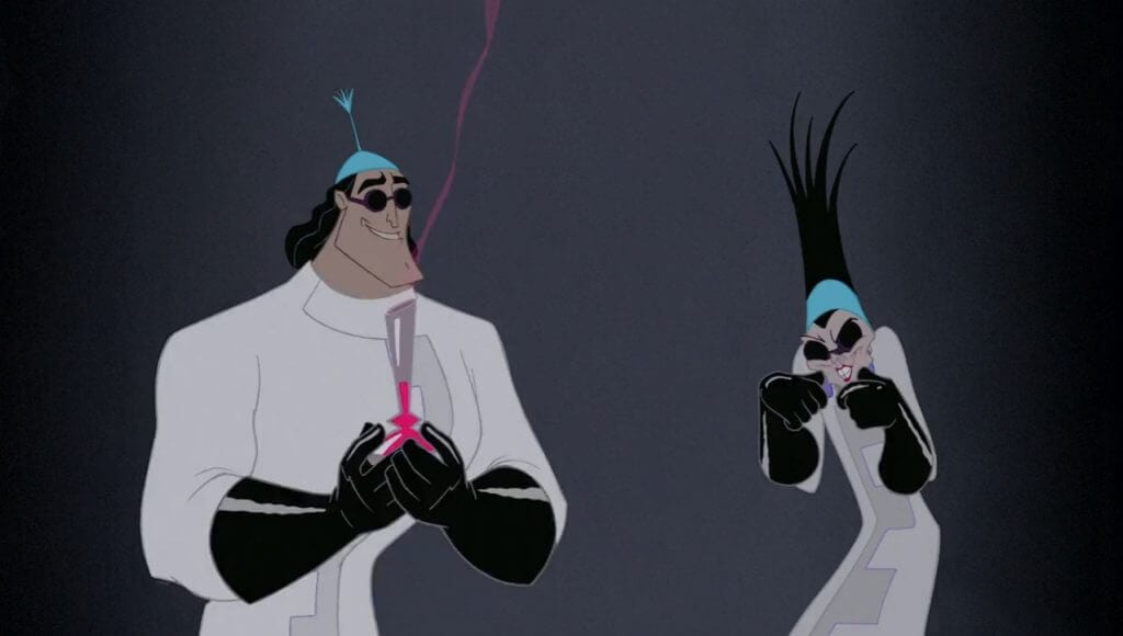 Yzma and Kronk, The Emperor's New Groove