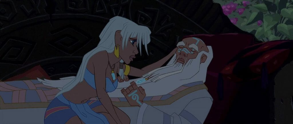 Kida, Kashekim Nedakh, Atlantis: The Lost Empire