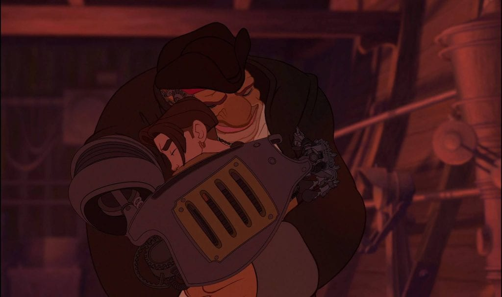 Jim Hawkins, John Silver, Treasure Planet