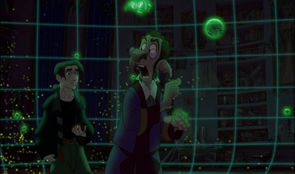 Jim Hawekins, Dobbler, Treasure Planet