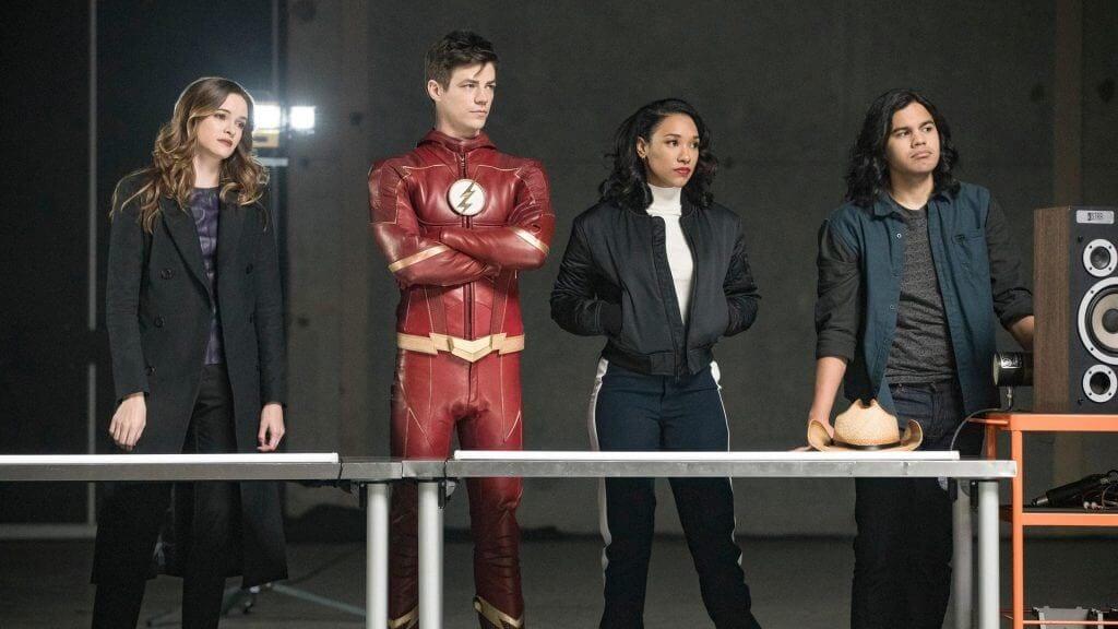 The Flash, Barry Allen, Caitlin Snow, Cisco Ramon, Iris West, The Flash season 4
