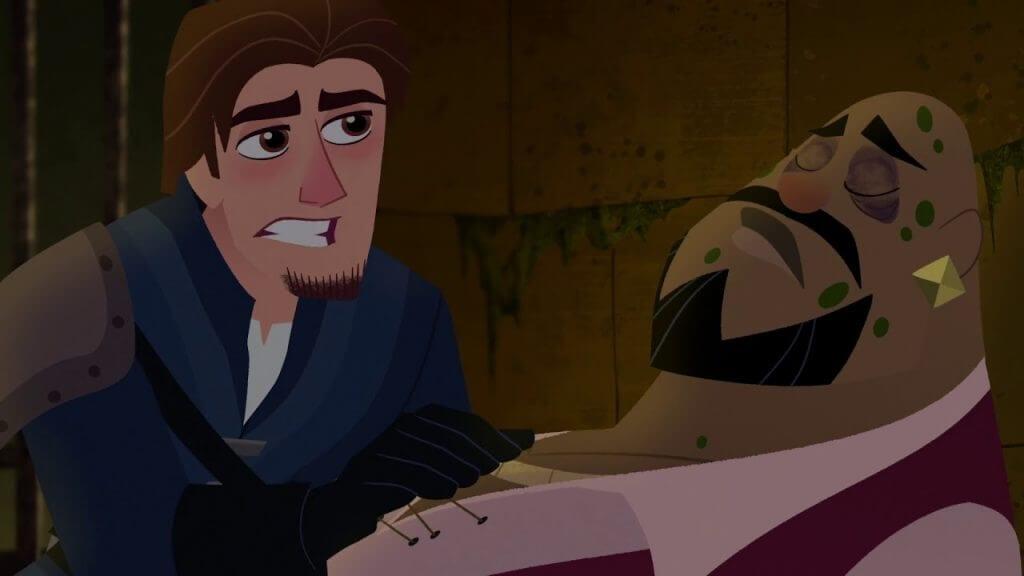 Eugene, Lance Strongbow, Rapunzel's Tangled Adventure, Beyond the Corona Walls