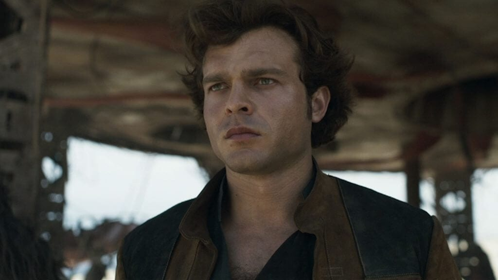 Alden Ehrenreich, Solo: A Star Wars Story, Star Wars Story