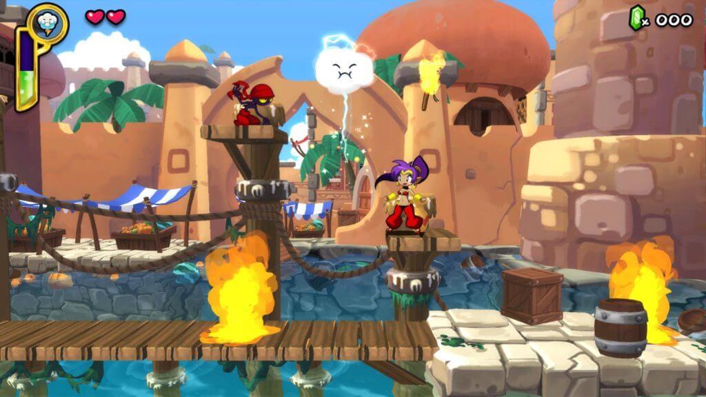 Shantae: Half Genie Hero, Retro Games