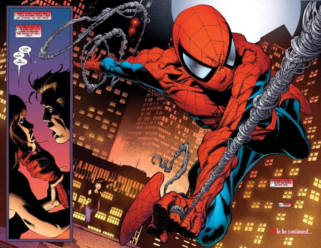 Amazing Spider-Man #1, Spider-Man, Peter Parker, Mary Jane, One More Day