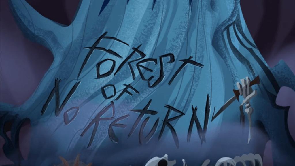 Rapunzel's Tangled Adventure, Forest of No Return