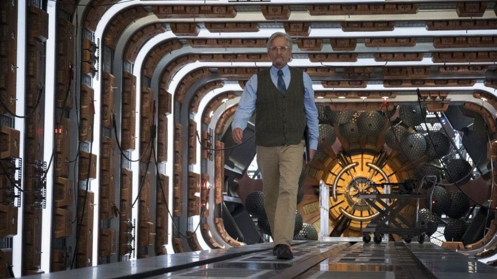 Ant-Man and the Wasp, Hank Pym, Michael Douglas