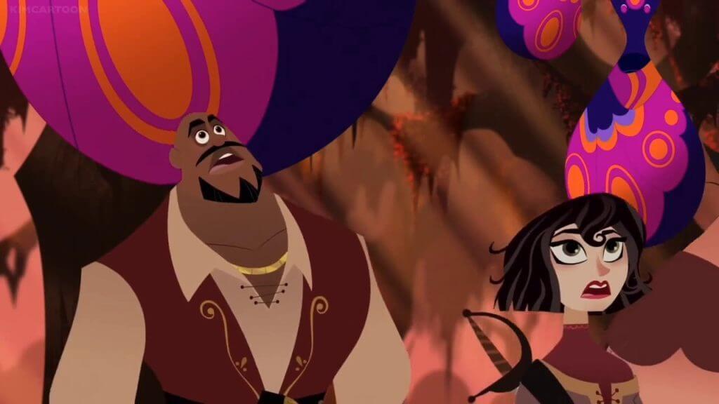Rapunzel's Tangled Adventure, Forest of No Return, Cassandra,