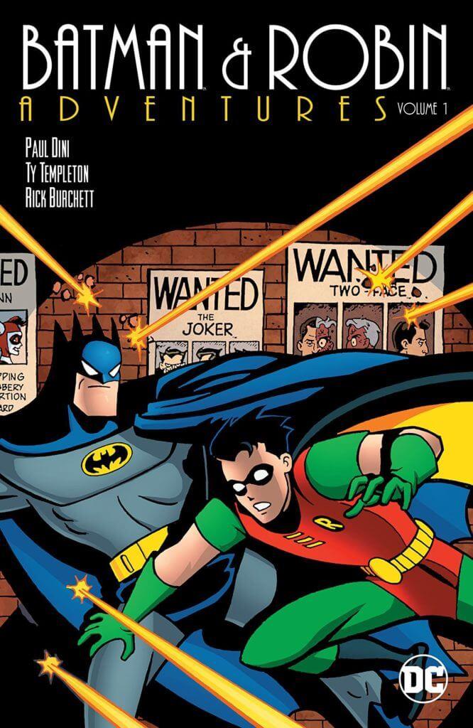 The Batman & Robin Adventures, Comic Books, kid-friendly