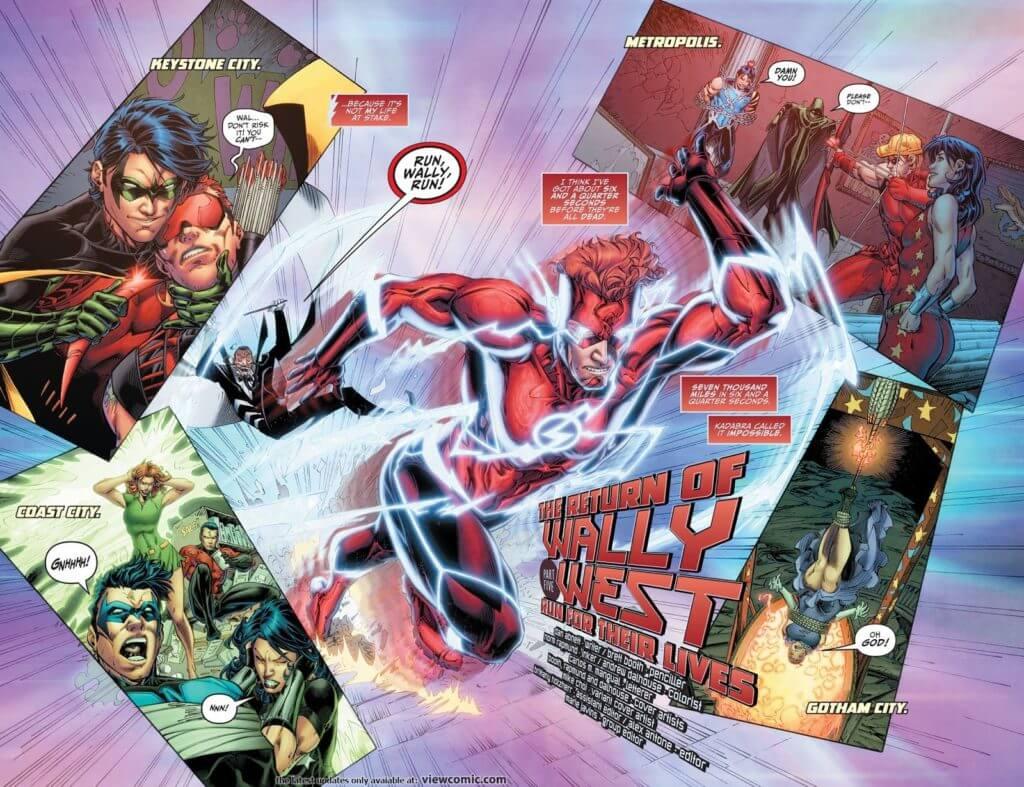 Wally West, The Flash, Kid Flash