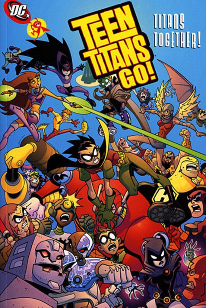 TeenTitans Go, Comic Books, kid-friendly
