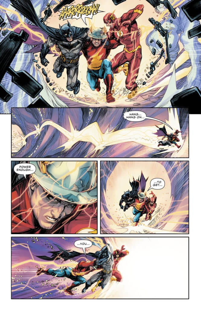 The Flash, Barry Allen, Jay Garrick, Rebirth, Batman