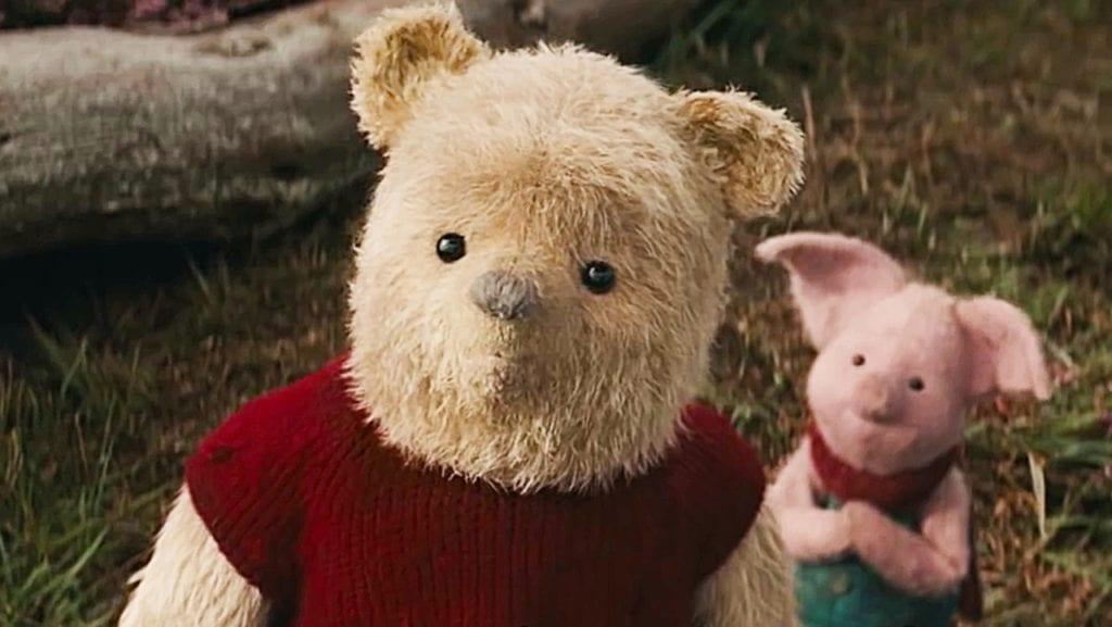 Christopher Robin, Winnie the Pooh, Piglet, Pooh Bear