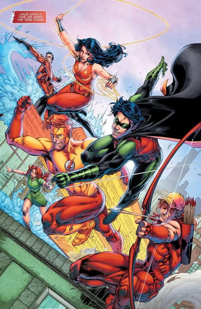 Wally West, The Flash, Kid Flash, Teen Titans