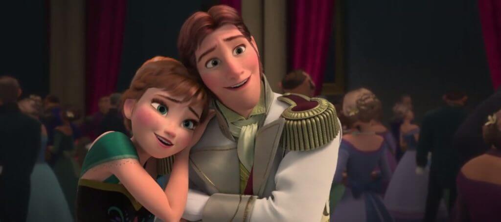 Frozen, Anna, Hans