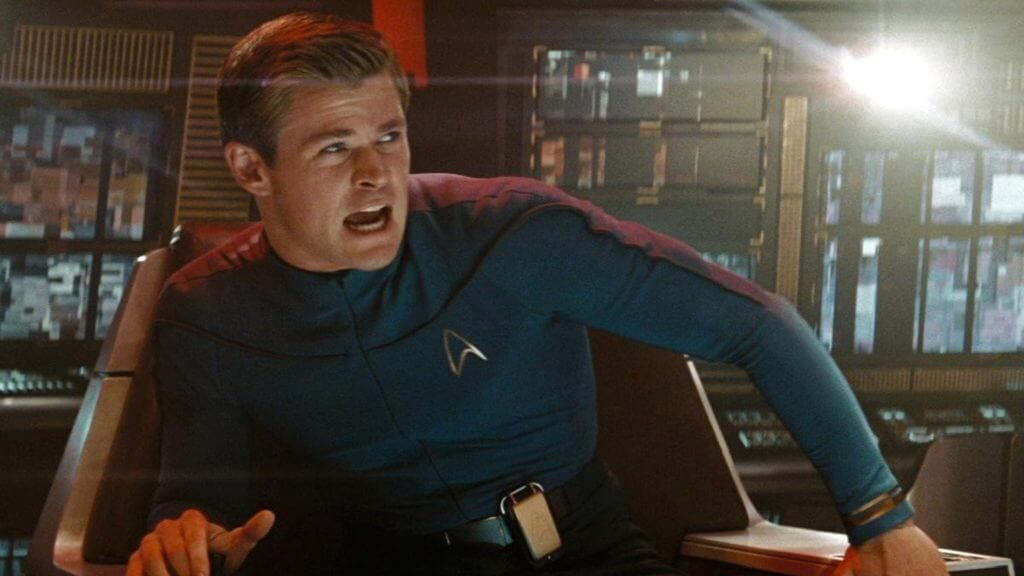 Chris Hemsworth, George Kirk, Chris Pine, Captain Kirk, Star Trek 4