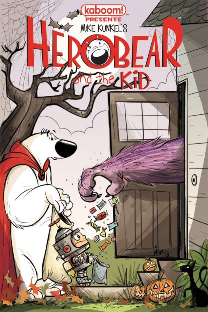Herobear and the Kid, Comic Books, kid-friendly