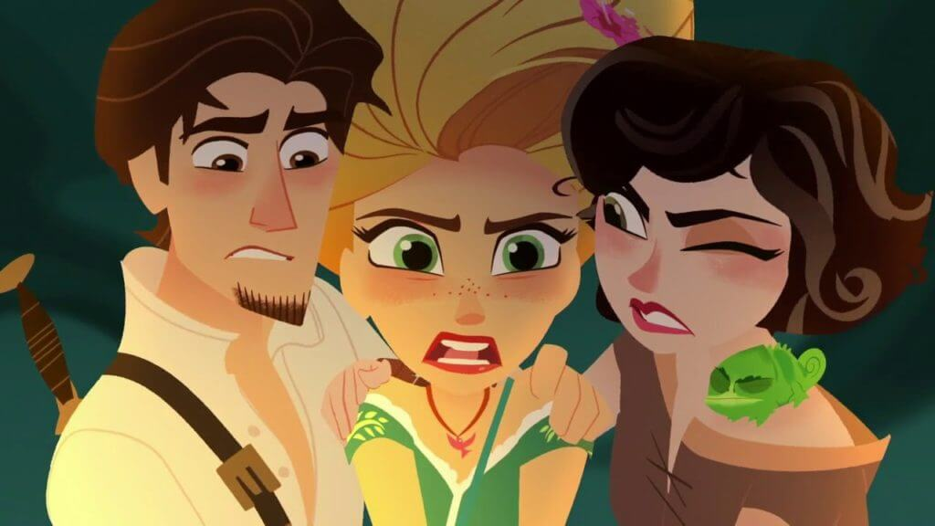 Rapunzel's Tangled Adventure, Happiness Is...
