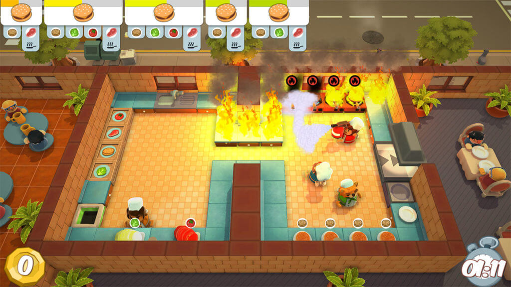 Overcooked, Games with Gold, Xbox