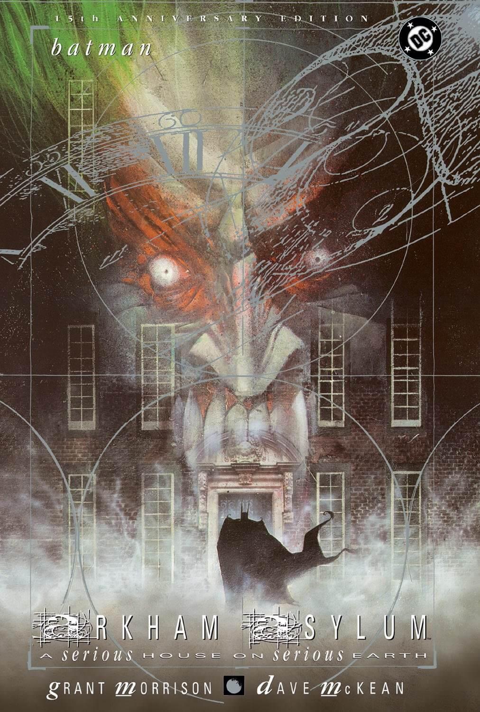 Arkham Asylum, horror comic books, Batman