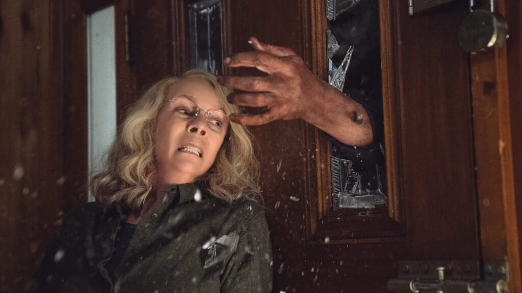 Halloween (2018), Michael Myers, Jamie Lee Curtis, Laurie Strode