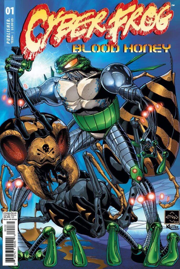 Comicsgate, Ethan Van Sciver, Cyberfrog