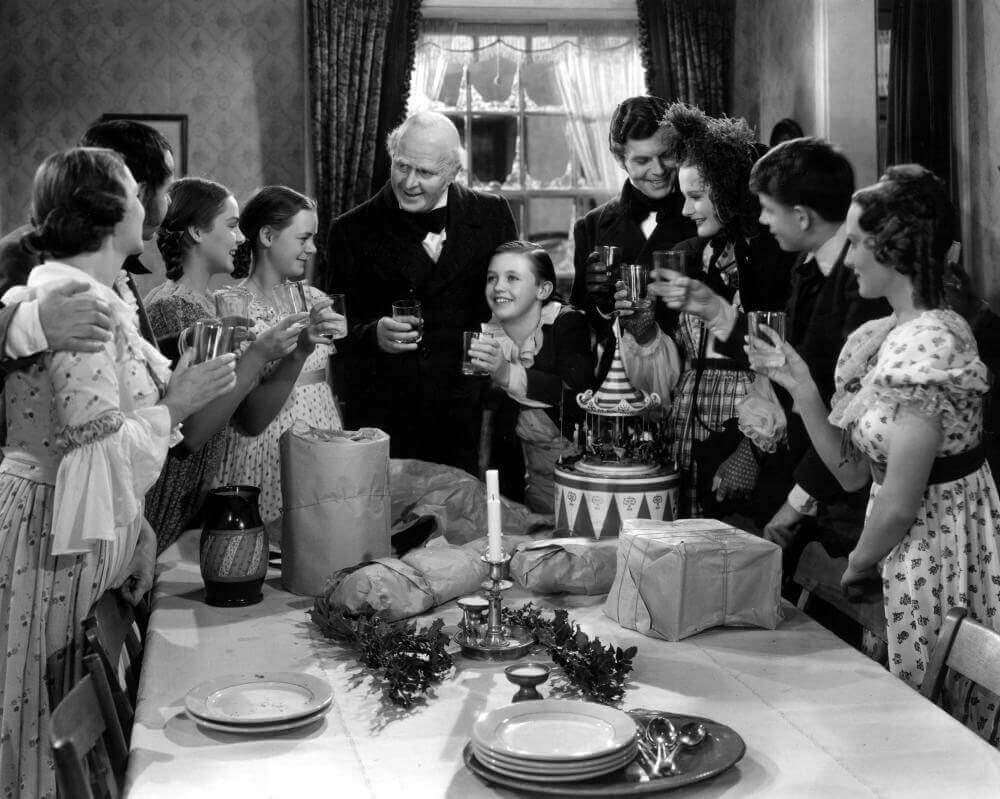 A Christmas Carol, Ebenezer Scrooge, Reginald Owen