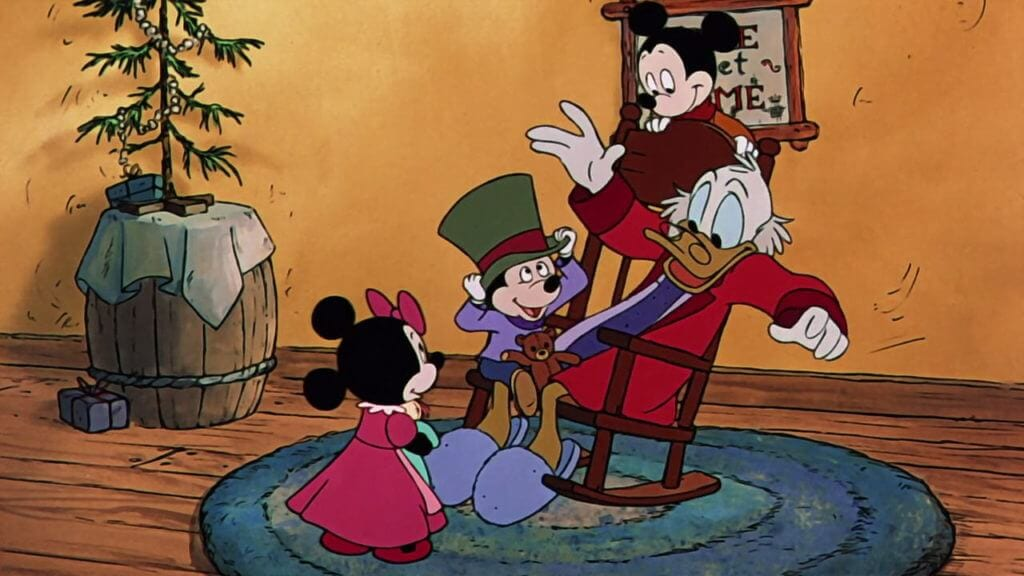 Mickey's Christmas Carol, Scrooge