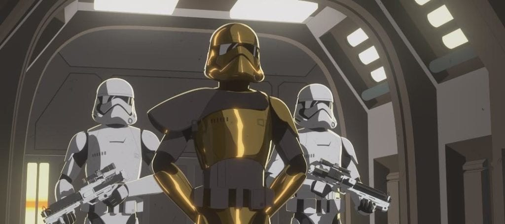Star Wars Resistance, Secrets and Holograms