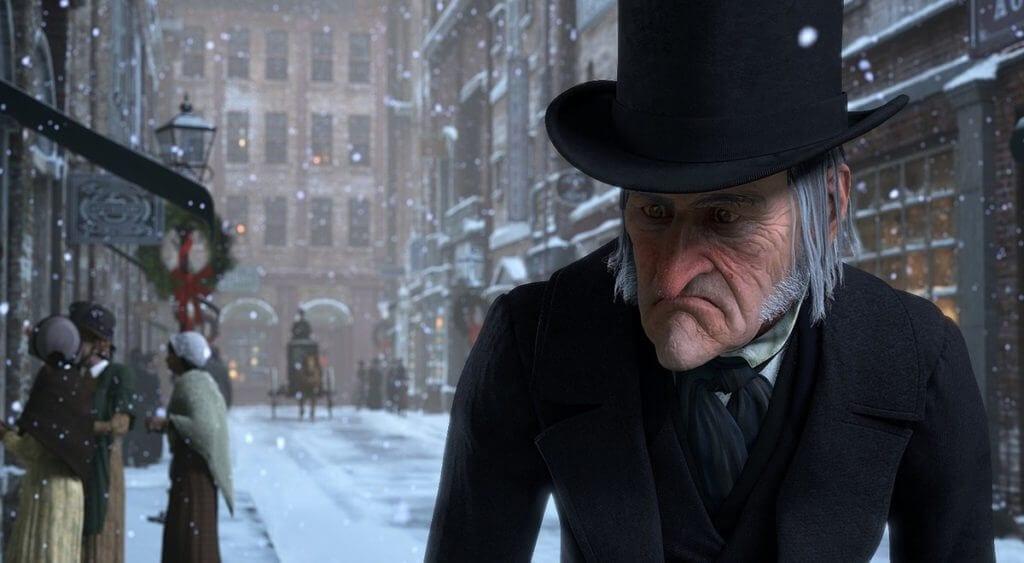 A Christmas Carol, Ebenezer Scrooge, Jim Carrey