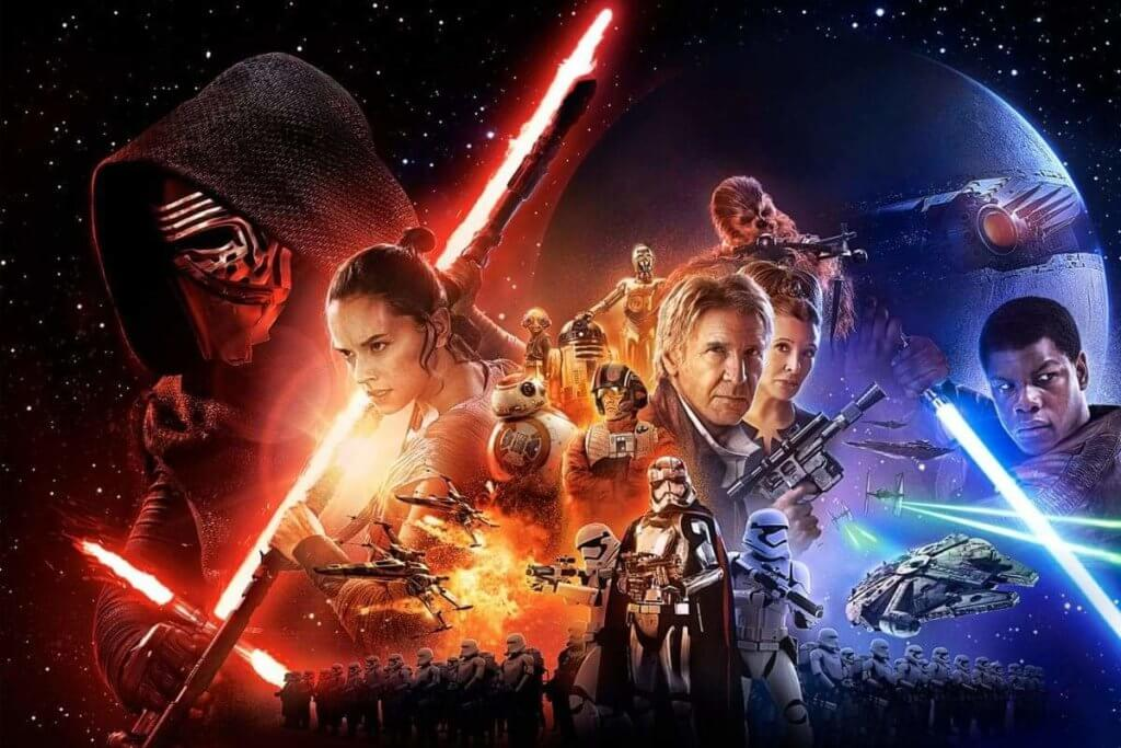 Star Wars. The Force Awakens, tropes