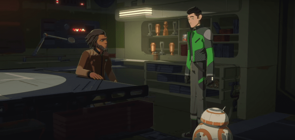 Star Wars Resistance, The New Trooper