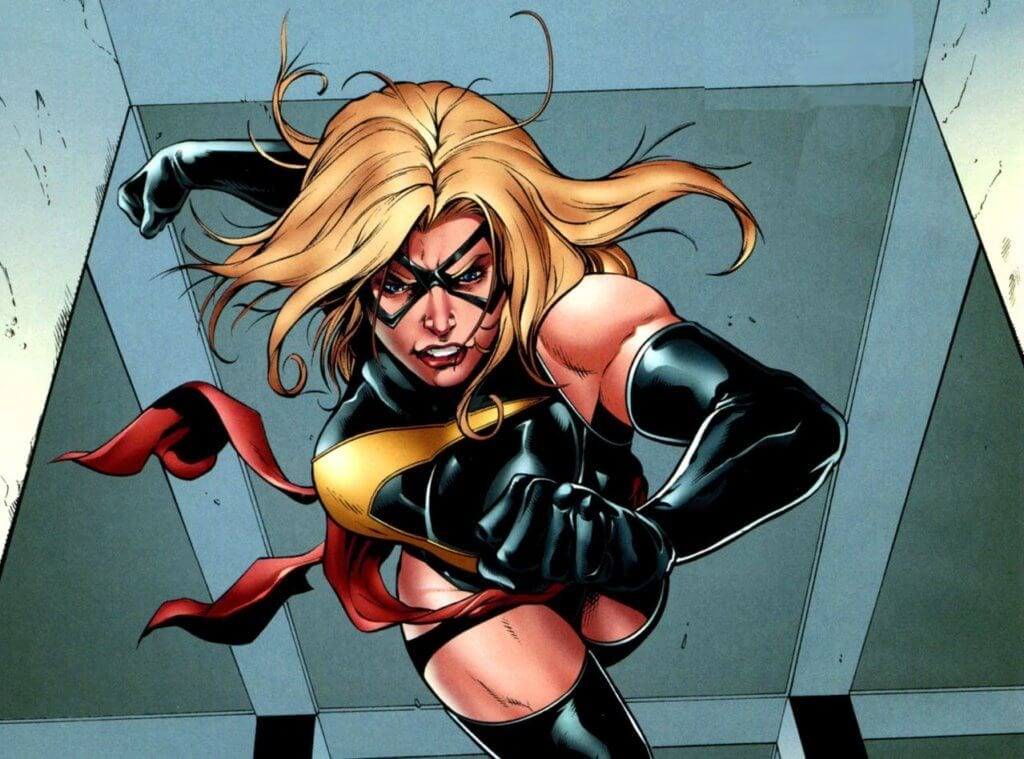 comic books, Ms. Marvel, Carol Danvers