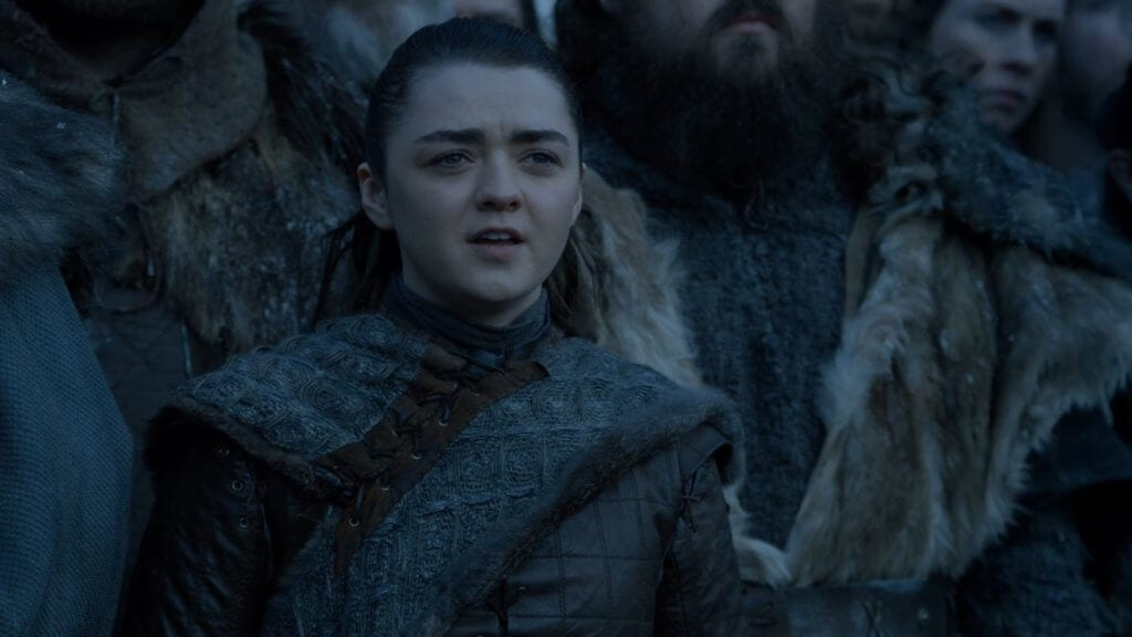 Gane of Thrones, Winterfell, Arya