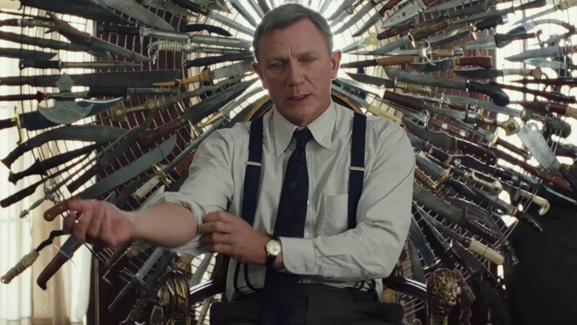 Daniel Craig is on the...